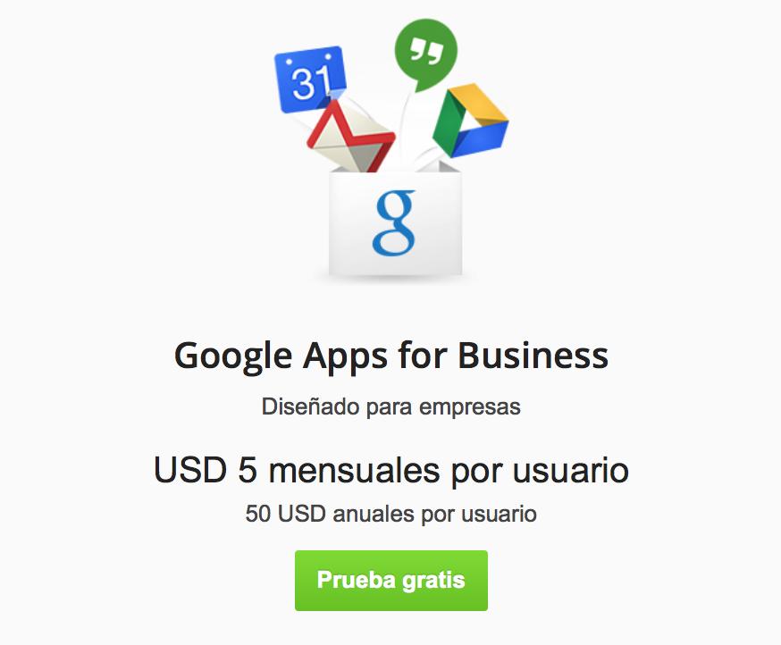 Google Apps para PYMES